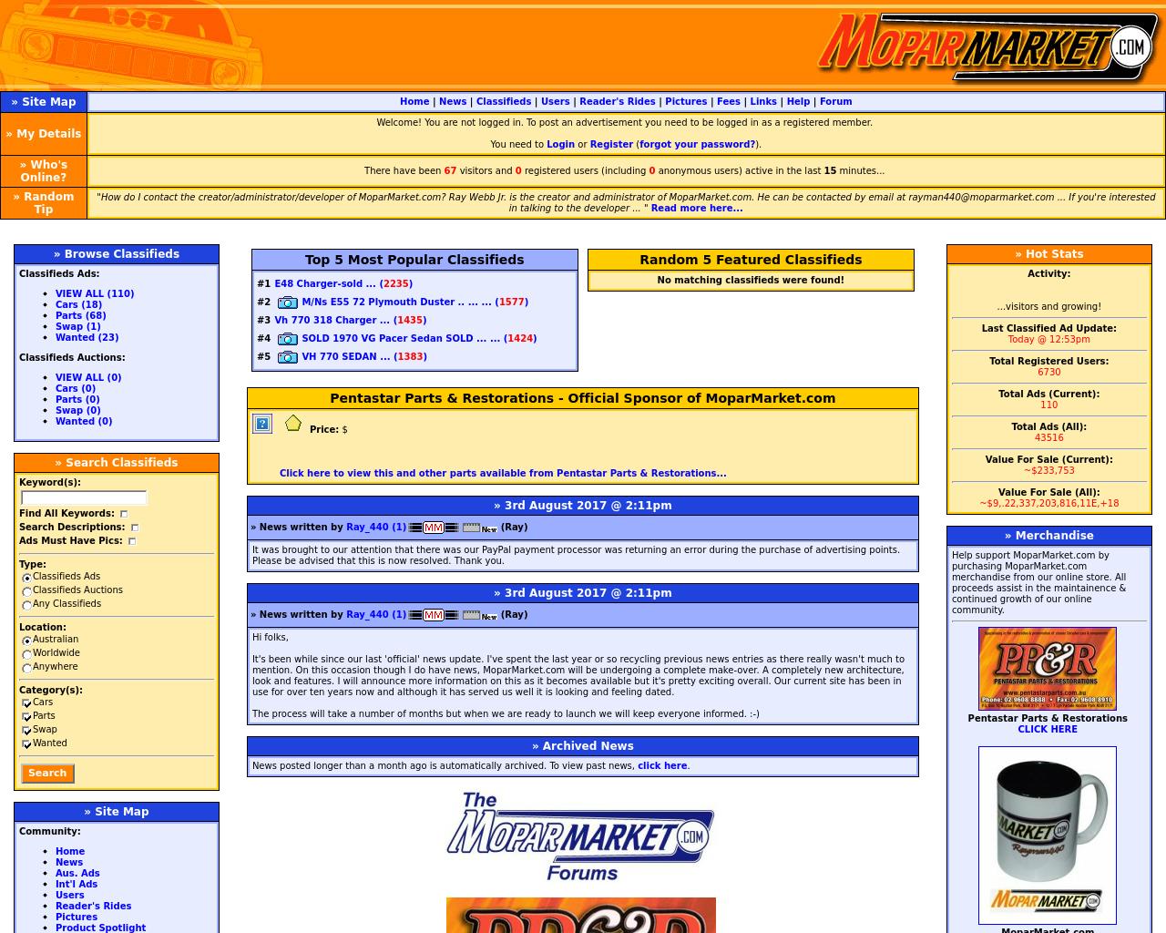 Moparmarket.com-Advertising-Reviews-Pricing