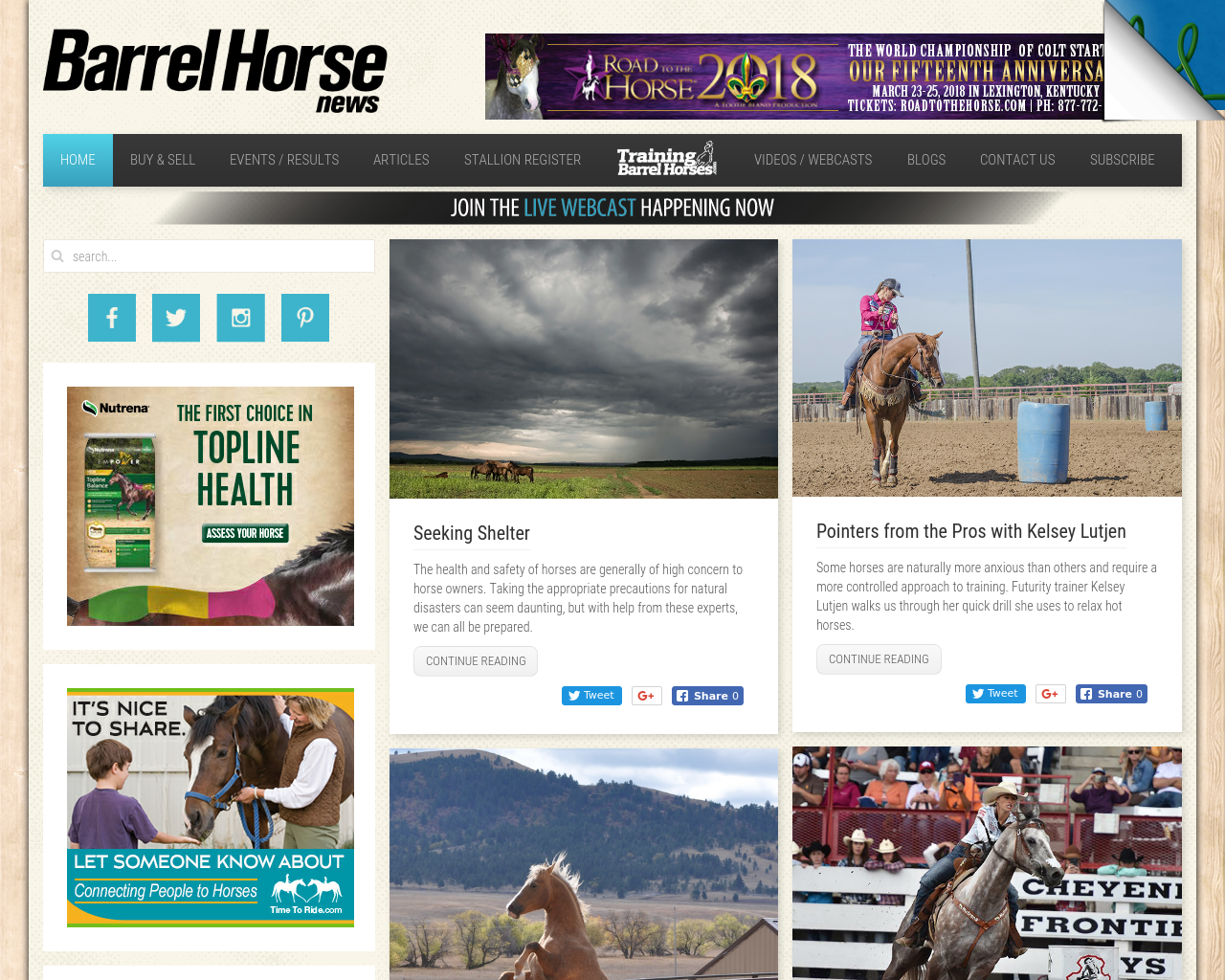 Barrel-Horse-News-Advertising-Reviews-Pricing