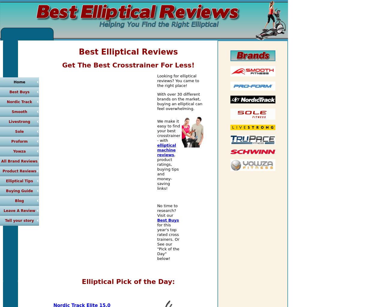 Best-Elliptical-Reviews-Advertising-Reviews-Pricing