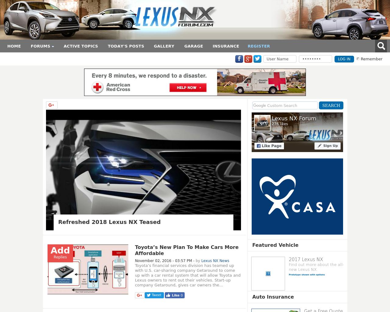 Lexus-NX-Forum.com-Advertising-Reviews-Pricing