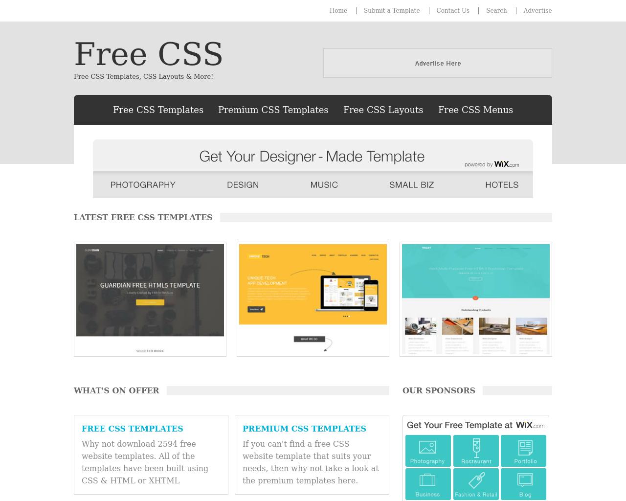 Free-CSS-Advertising-Reviews-Pricing
