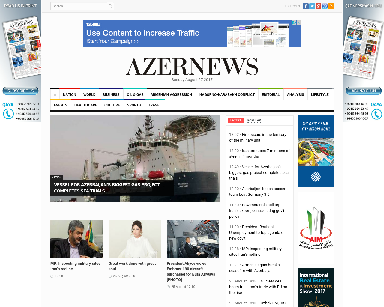 Azernews-Advertising-Reviews-Pricing