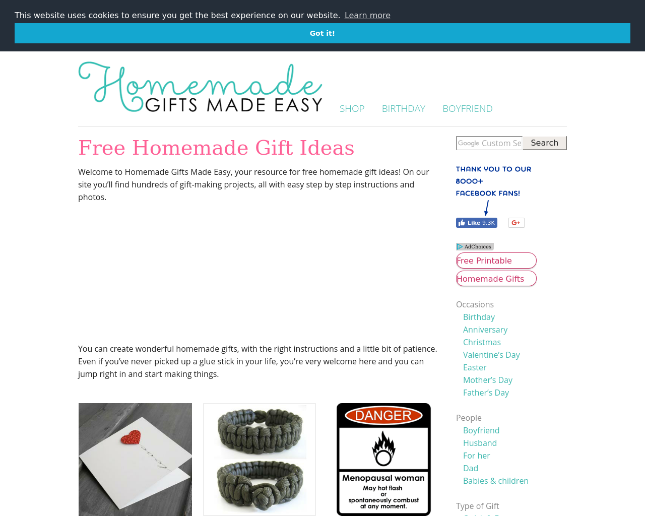 Homemade-Gifts-Made-Easy-Advertising-Reviews-Pricing