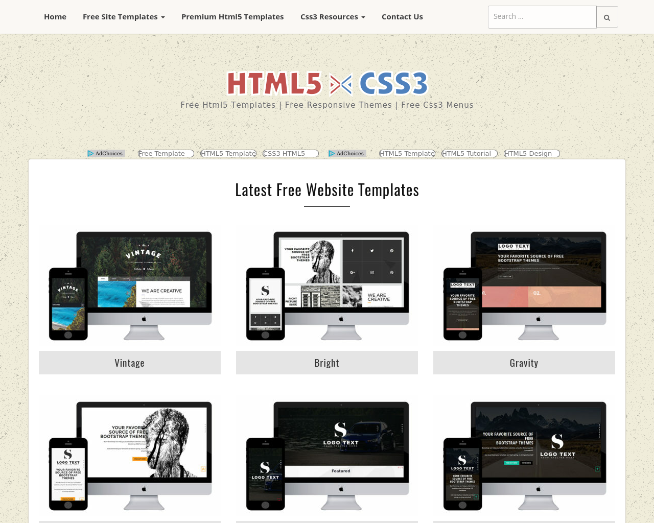 Html5xcss3-Advertising-Reviews-Pricing