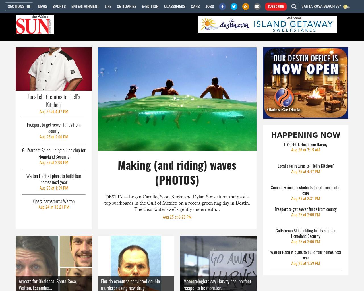 The-Walton-SUN-Advertising-Reviews-Pricing