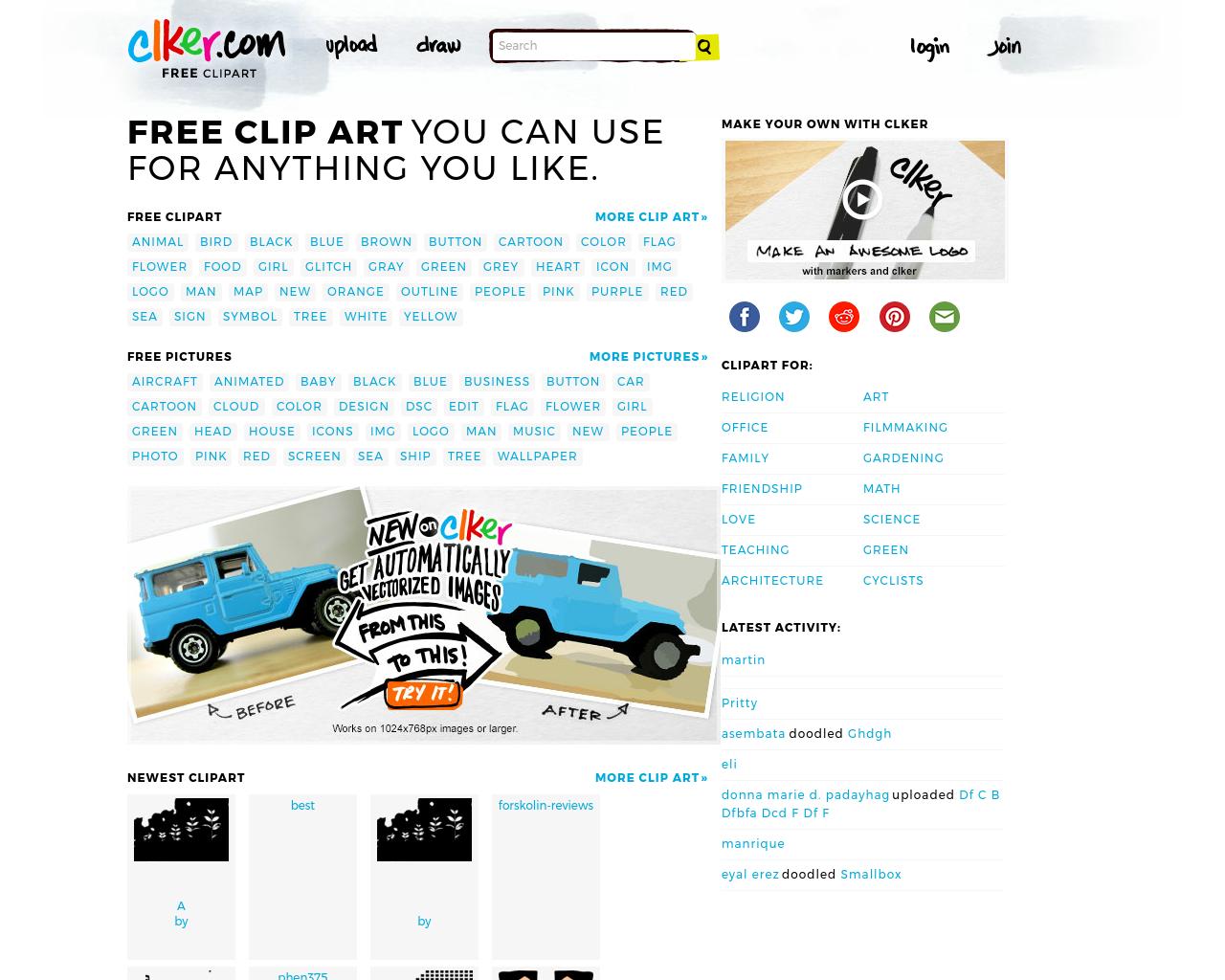 Clker.com-Advertising-Reviews-Pricing