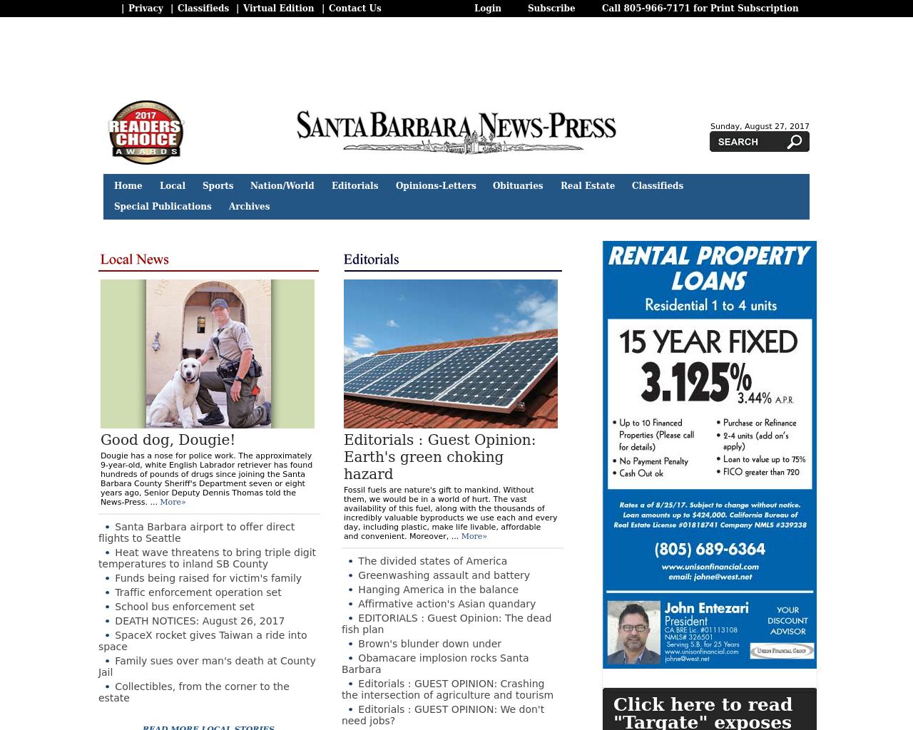 Santa-Barbara-News-Press-Advertising-Reviews-Pricing