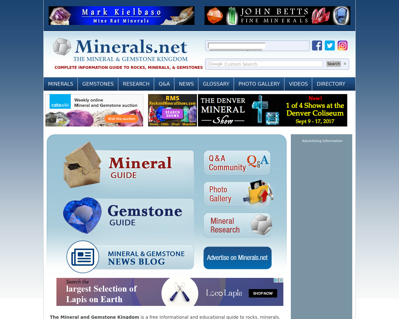 Minerals-Advertising-Reviews-Pricing