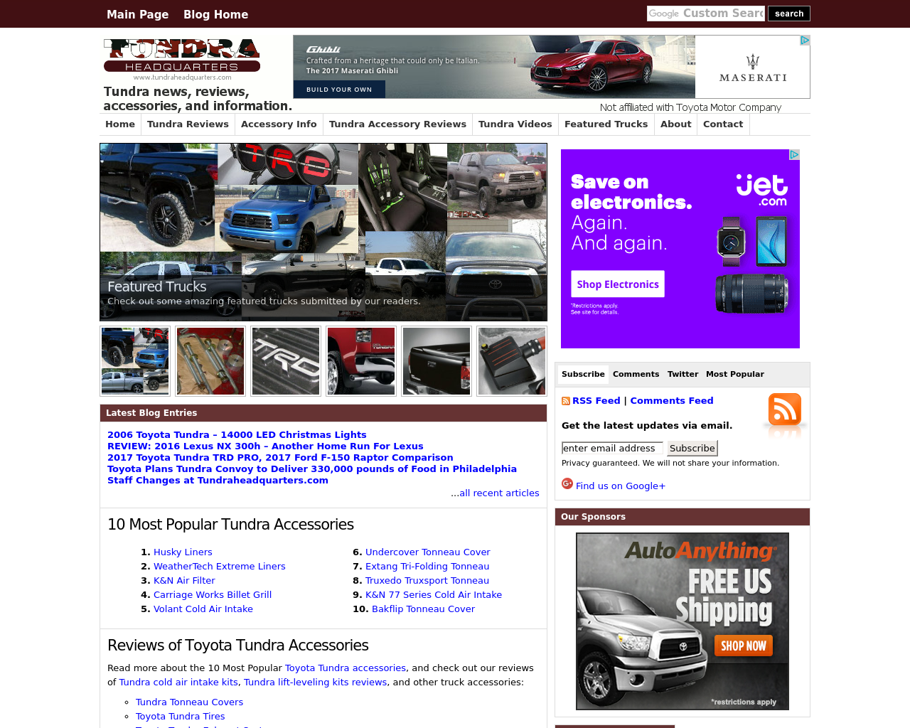 TundraHeadquarters.com-Advertising-Reviews-Pricing