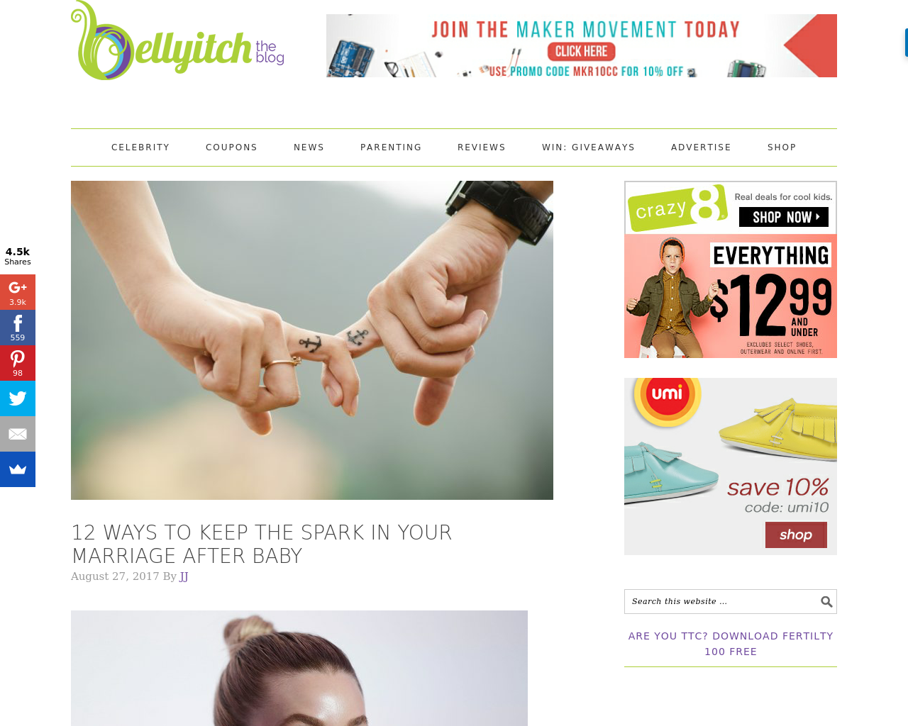 Bellyitch-The-Blog-Advertising-Reviews-Pricing
