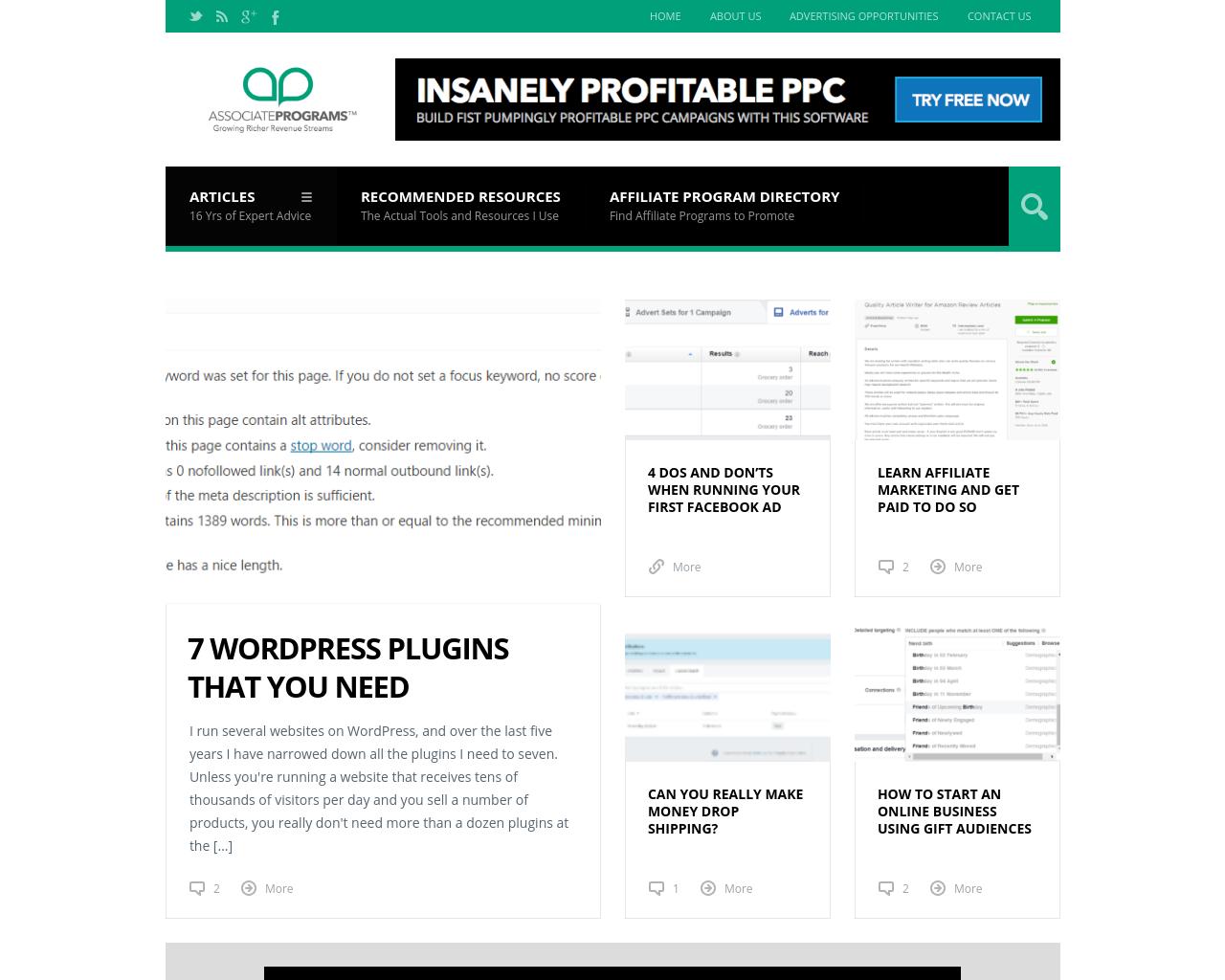 AssociatePrograms.com-Advertising-Reviews-Pricing