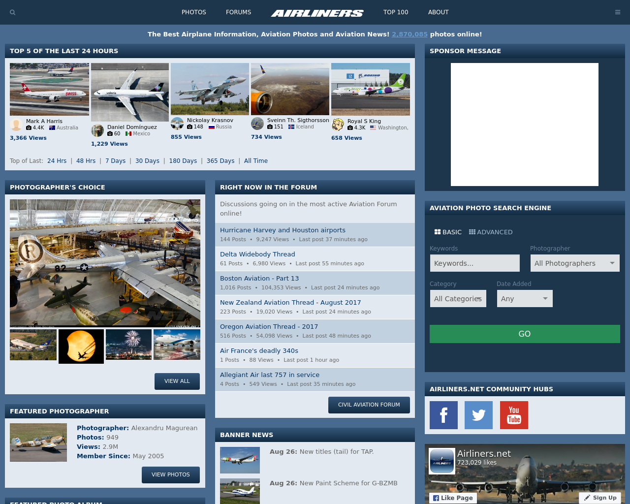Airliners.net-Advertising-Reviews-Pricing