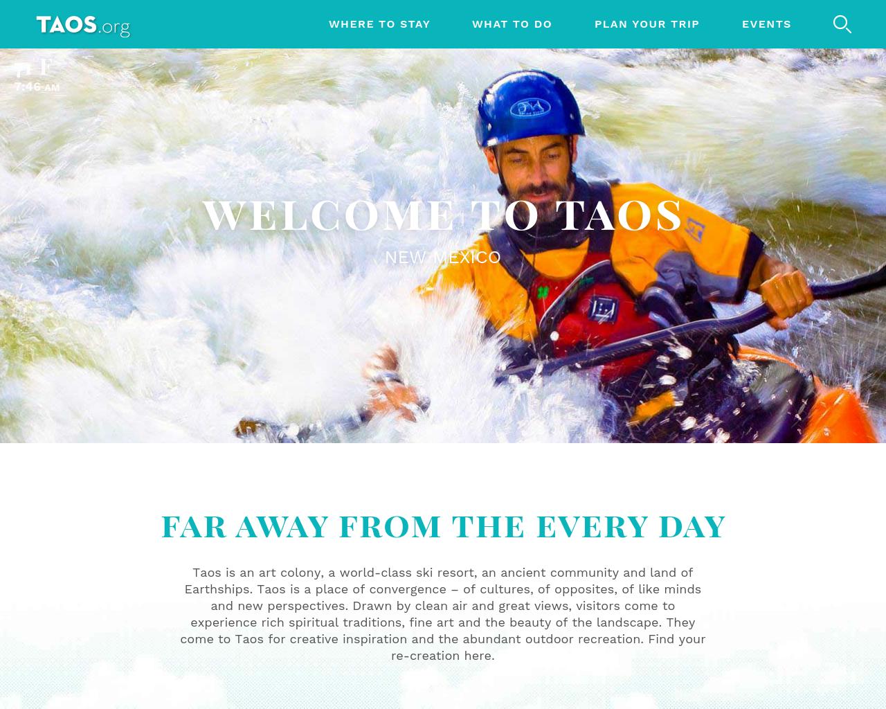 Taos.Org-Advertising-Reviews-Pricing