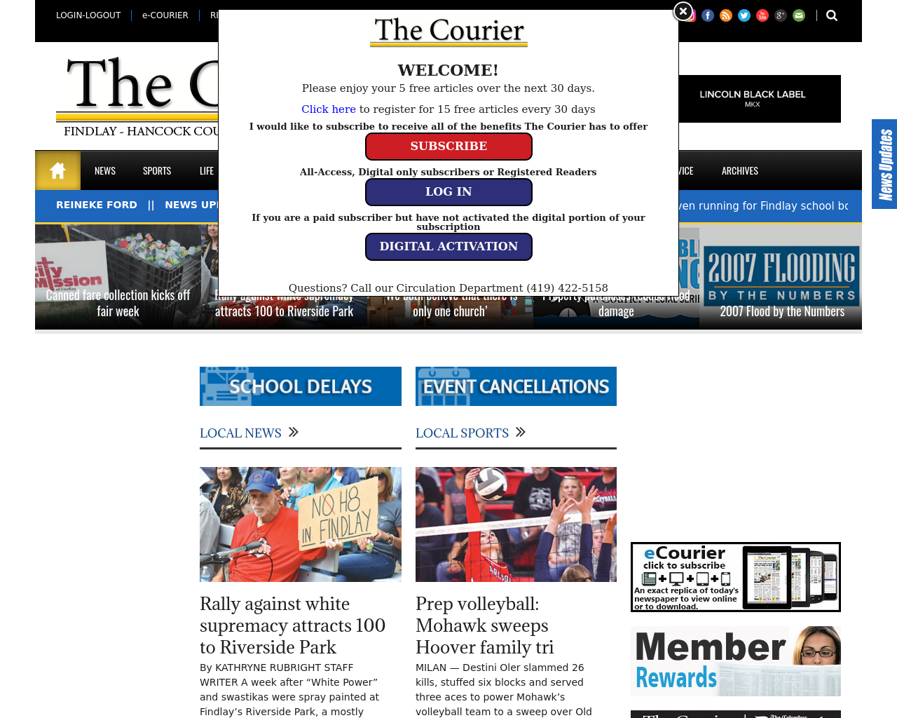 The-Courier.com-Advertising-Reviews-Pricing