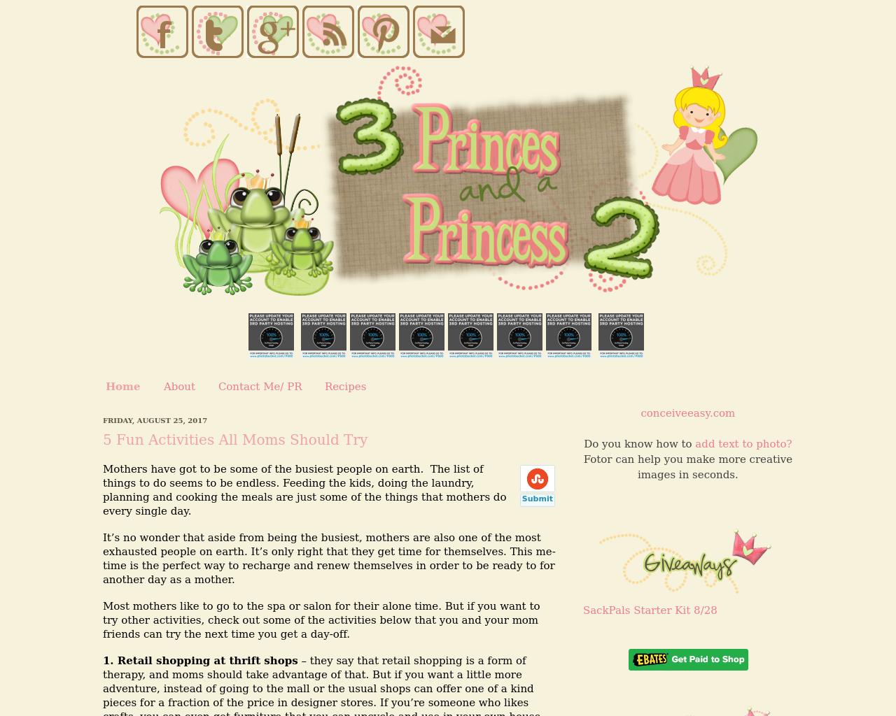 3-Princes-And-A-Princess-2-Advertising-Reviews-Pricing