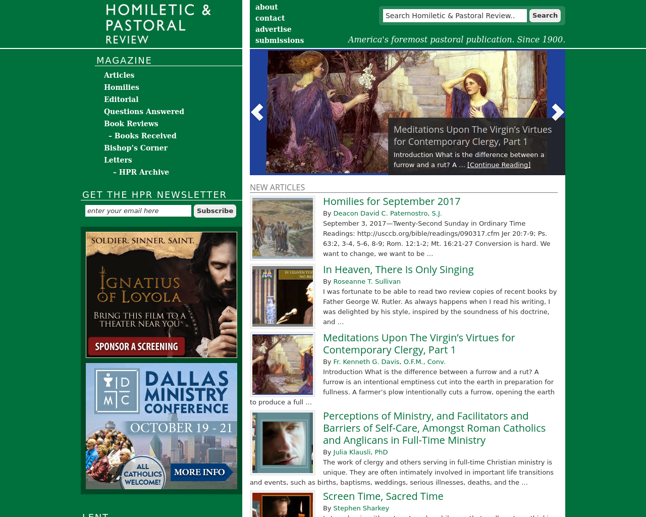 Homiletic-&-Pastoral-Review-Advertising-Reviews-Pricing