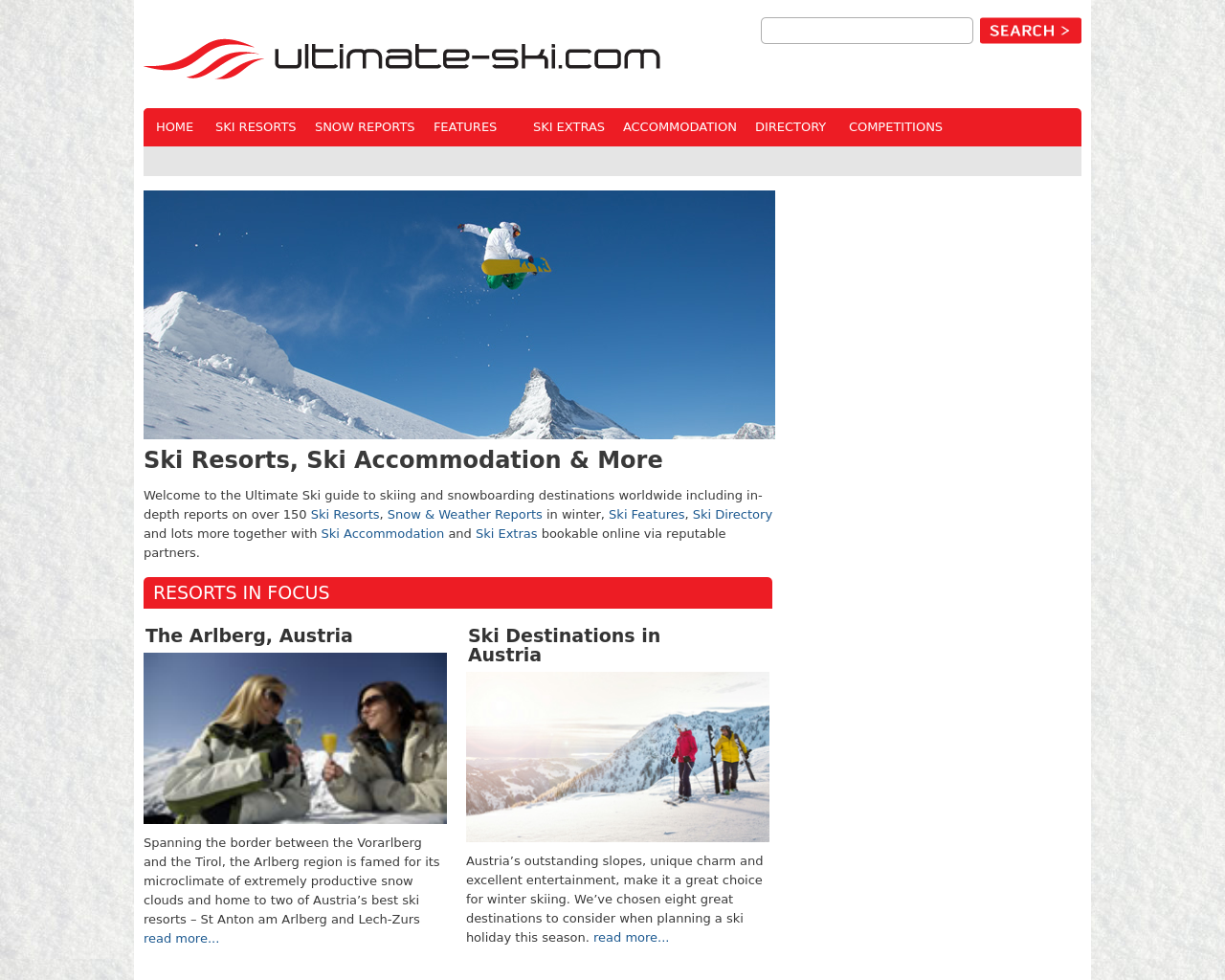 Ultimate-ski.com-Advertising-Reviews-Pricing