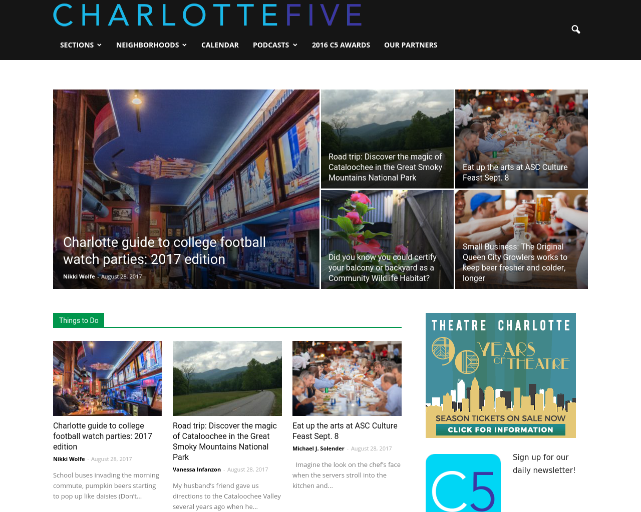 CHARLOTTEFIVE-Advertising-Reviews-Pricing