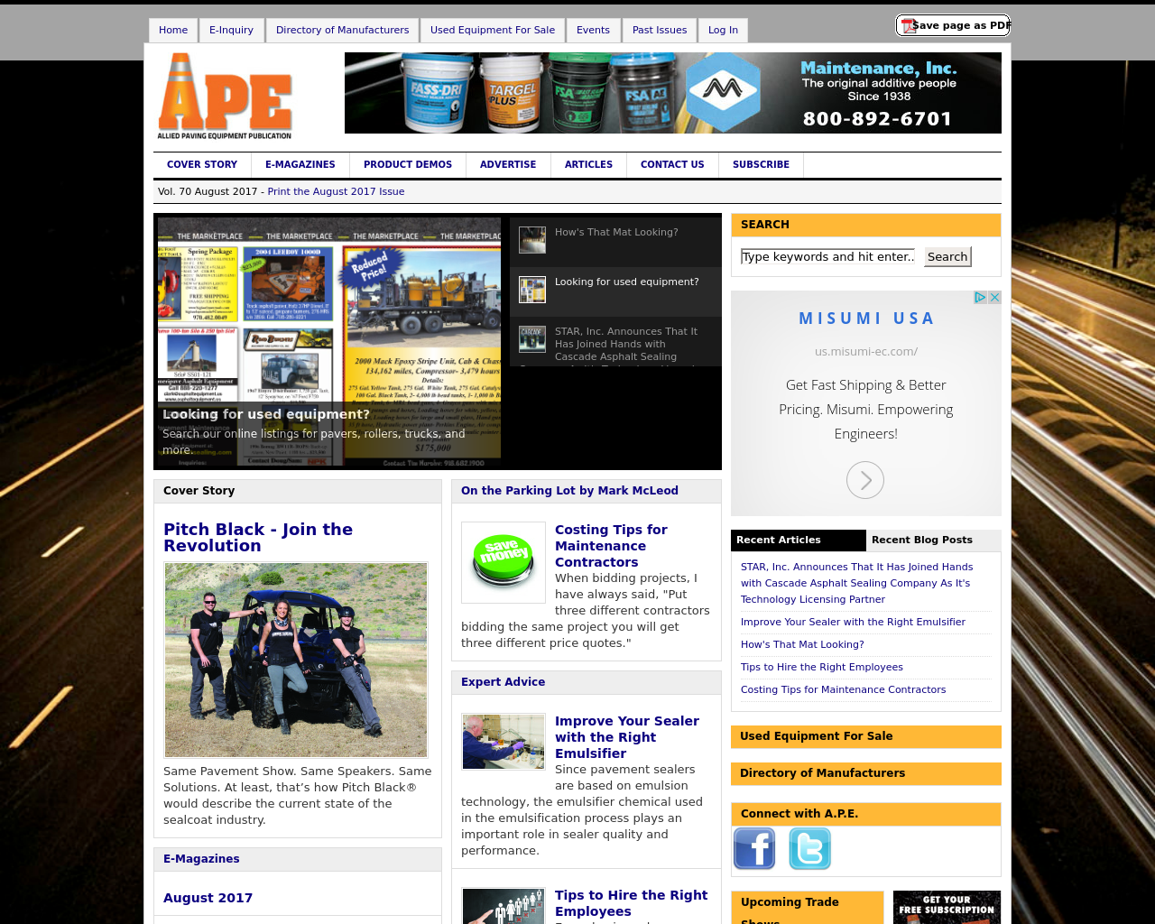 APE-(Allied-Paving-Equipment-Publication)-Advertising-Reviews-Pricing
