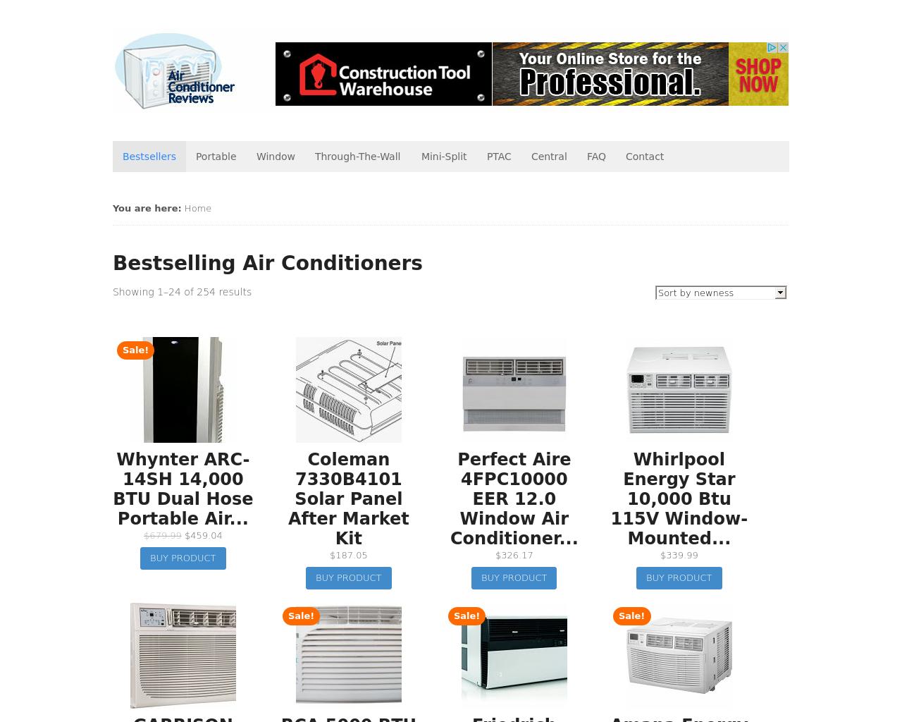 Air-conditioner-reviews.com-Advertising-Reviews-Pricing