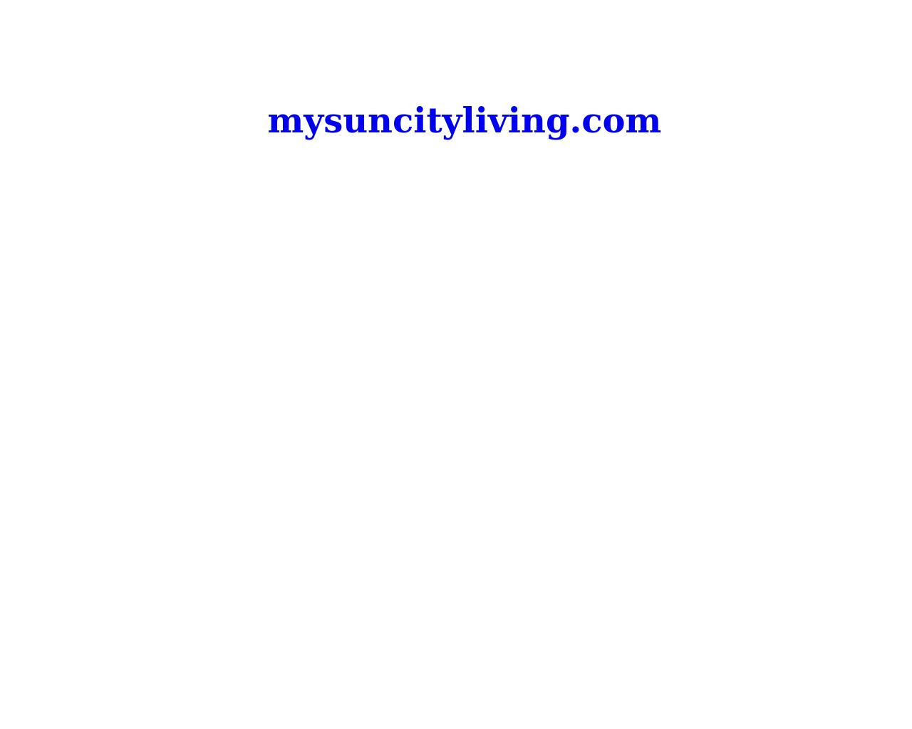 My-Sun-City-Living.com-Advertising-Reviews-Pricing