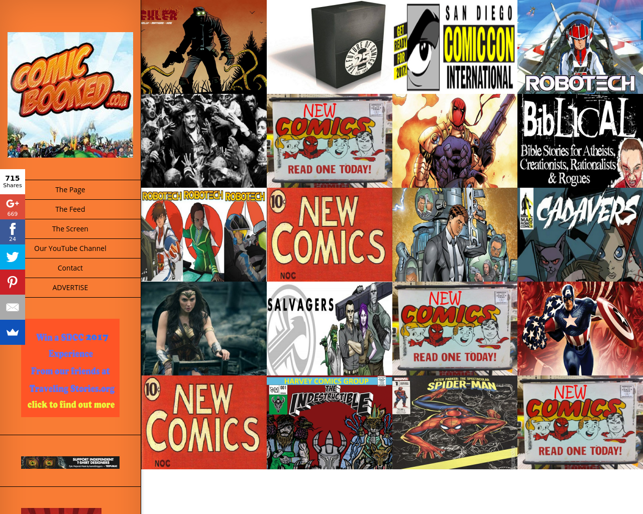 Comicbooked.com-Advertising-Reviews-Pricing