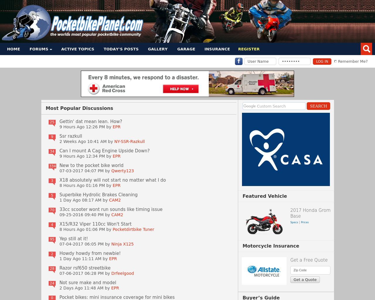 PocketbikePlanet.com-Advertising-Reviews-Pricing