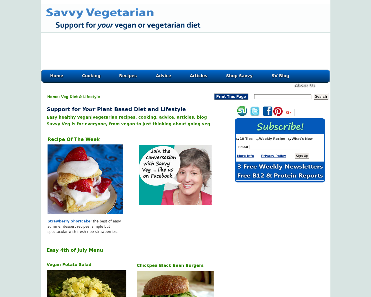 Savvy-Vegetarian-Advertising-Reviews-Pricing