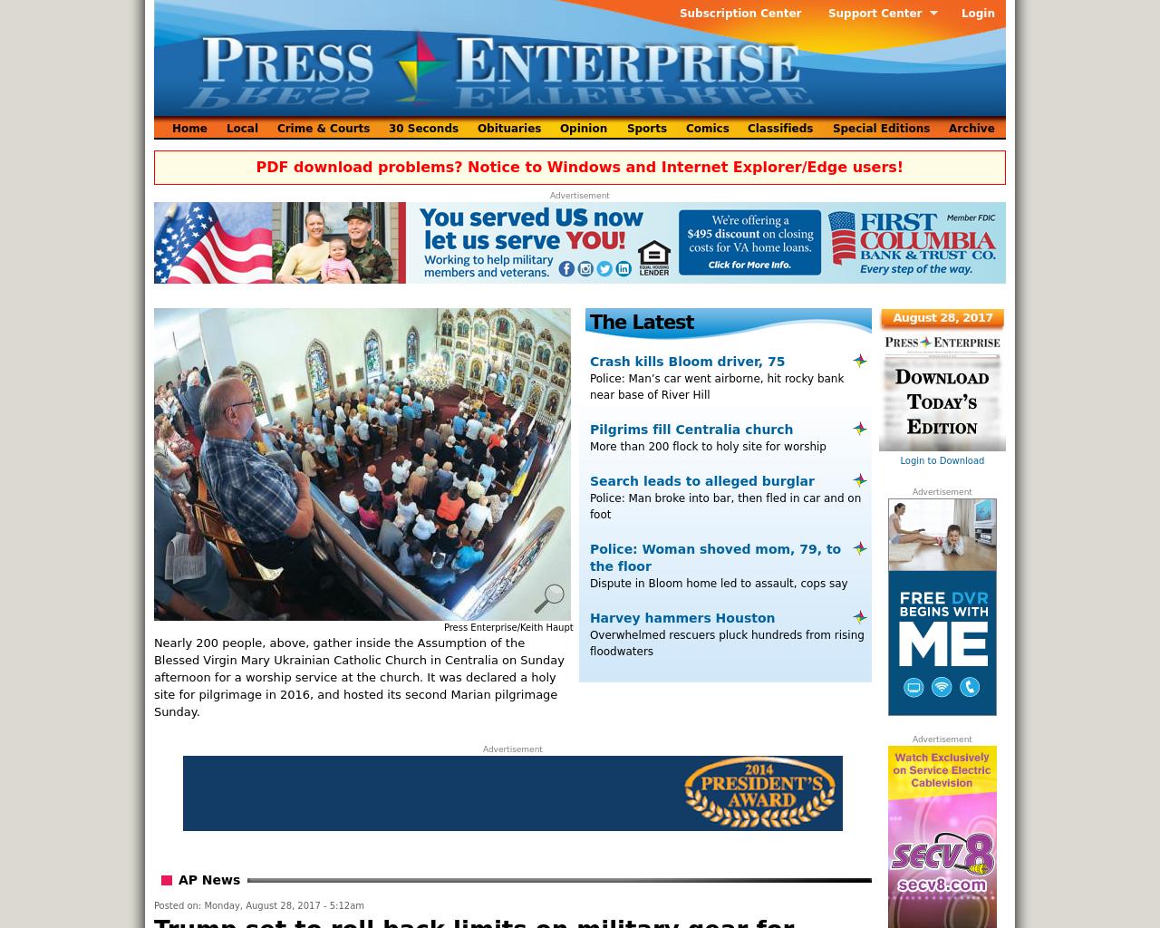 Press-Enterprise-Online-Advertising-Reviews-Pricing