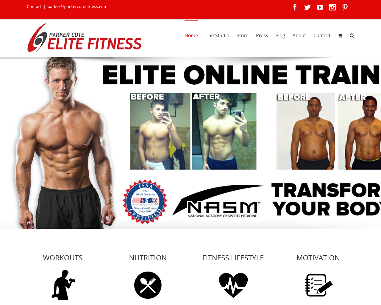 Parker-Cote-Elite-Fitness-Advertising-Reviews-Pricing