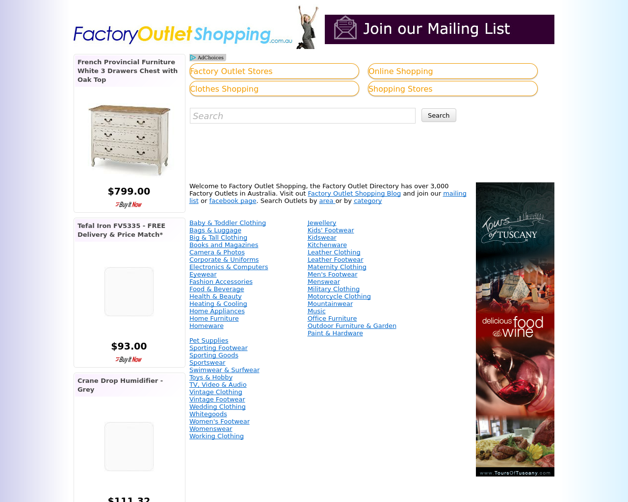 Factory-Outlet-Shopping-Advertising-Reviews-Pricing
