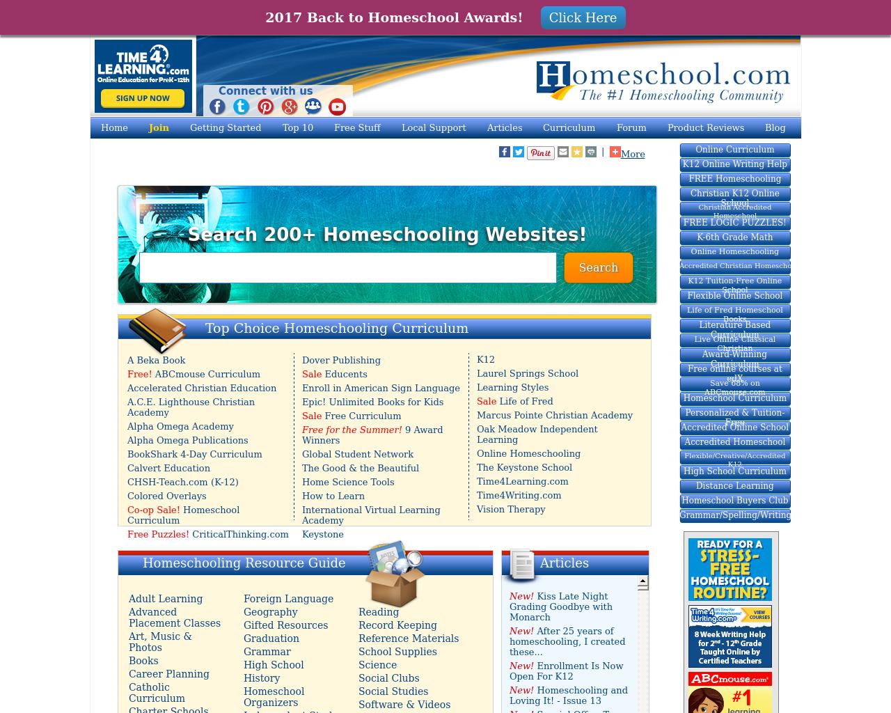HomeSchool.com-Advertising-Reviews-Pricing