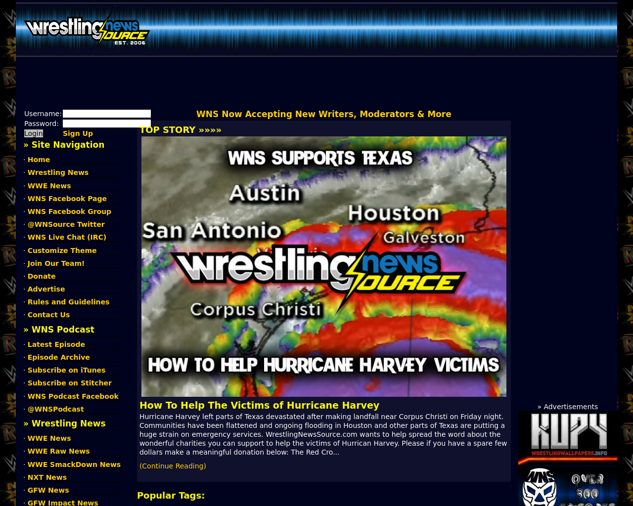 WrestlingNewsSource.com-Advertising-Reviews-Pricing
