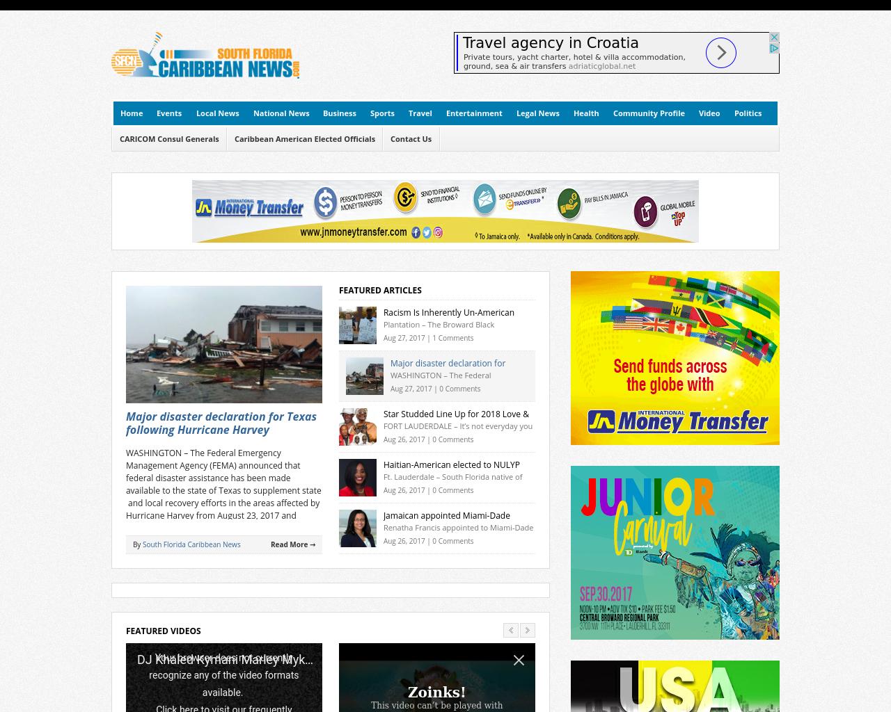 South-Florida-Caribbean-News-Advertising-Reviews-Pricing