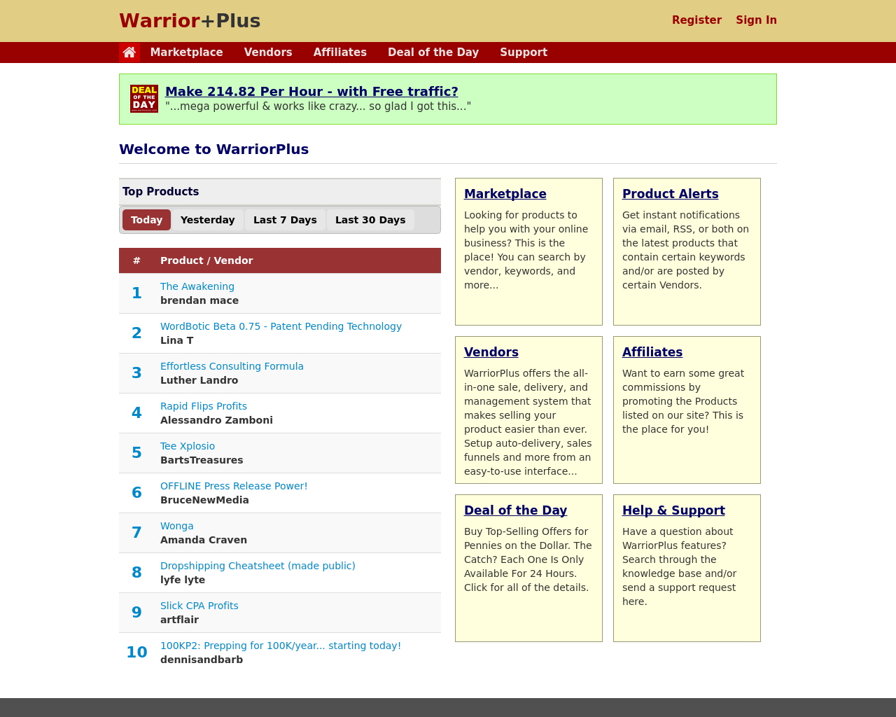 WarriorPlus-Advertising-Reviews-Pricing