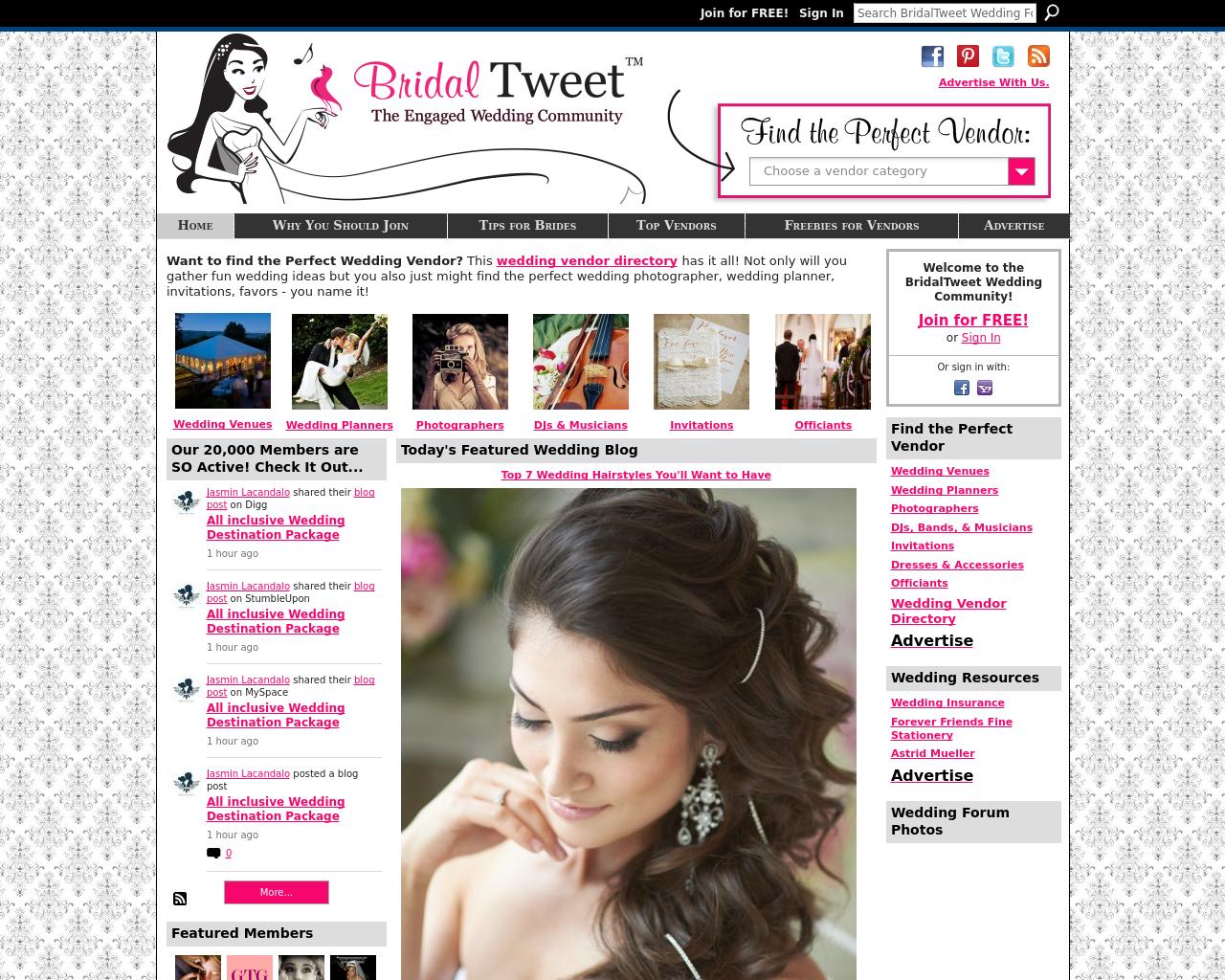 BridalTweet.com-Advertising-Reviews-Pricing