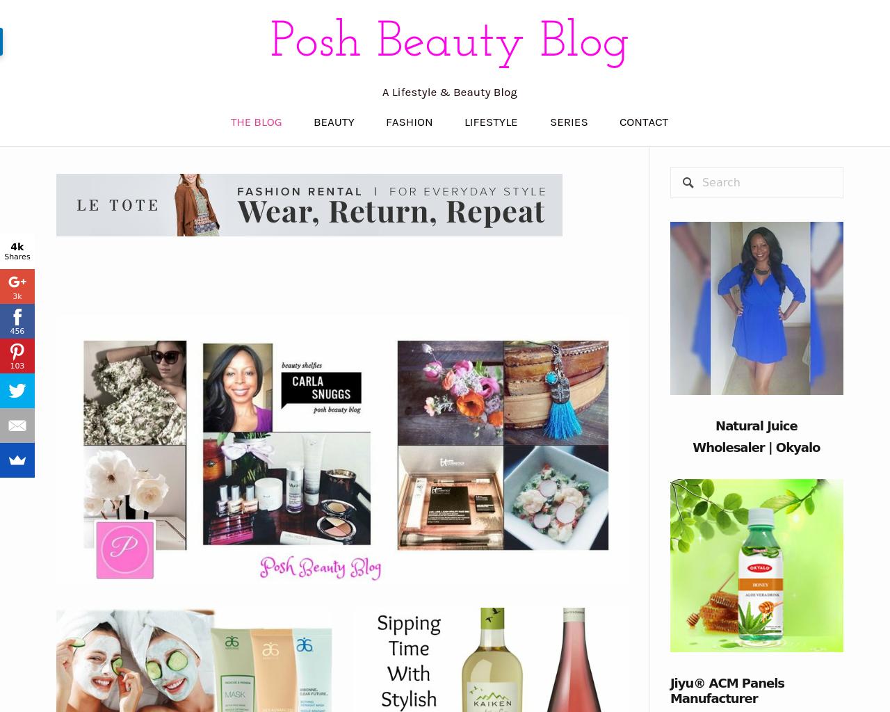 Posh-Beauty-Blog-Advertising-Reviews-Pricing