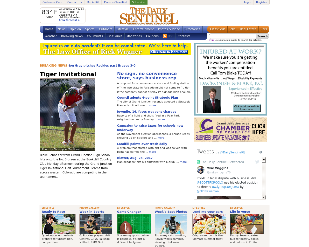 The-Daily-Sentinel-Grand-Junction-Advertising-Reviews-Pricing