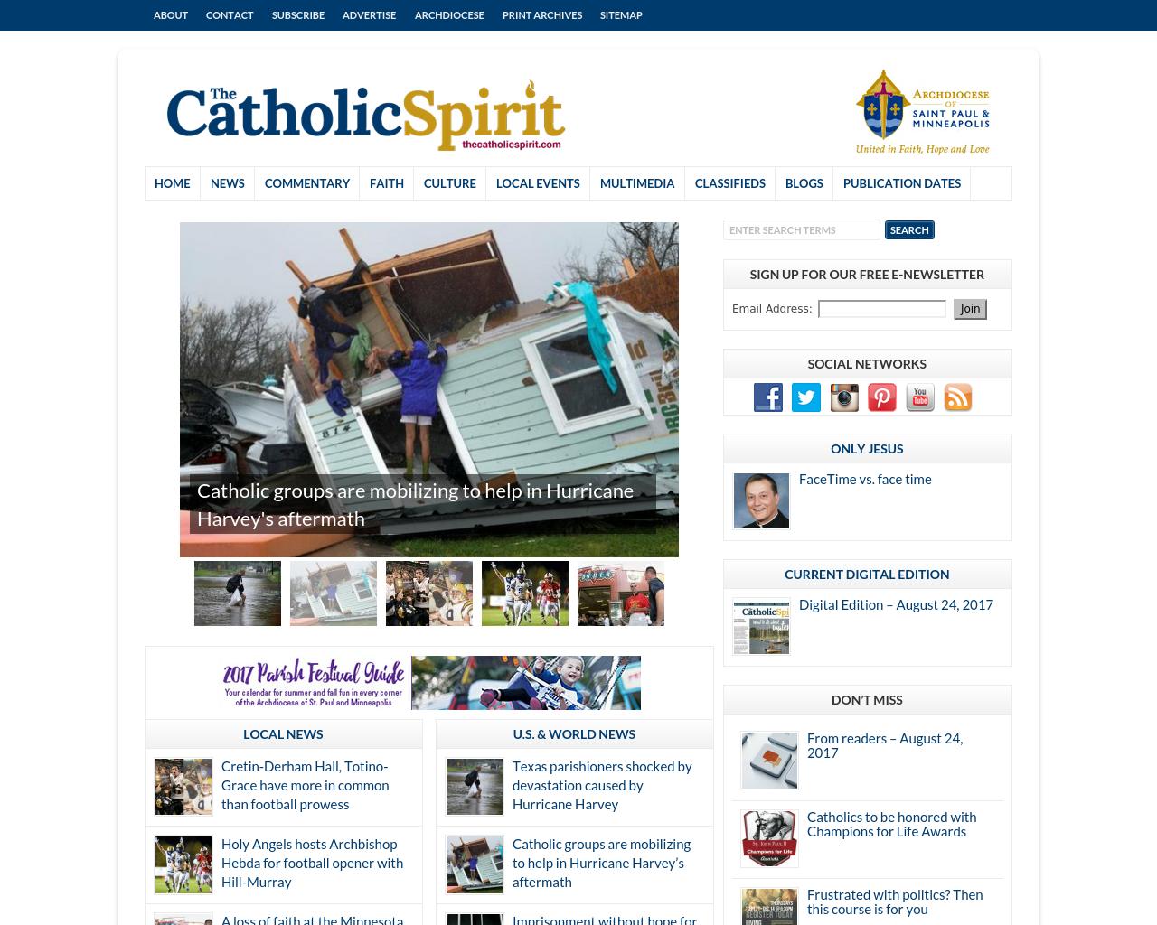 The-Catholic-Spirit-Advertising-Reviews-Pricing