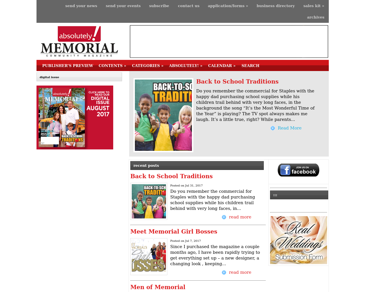 Absolutely!-Memorial-Magazine-Advertising-Reviews-Pricing