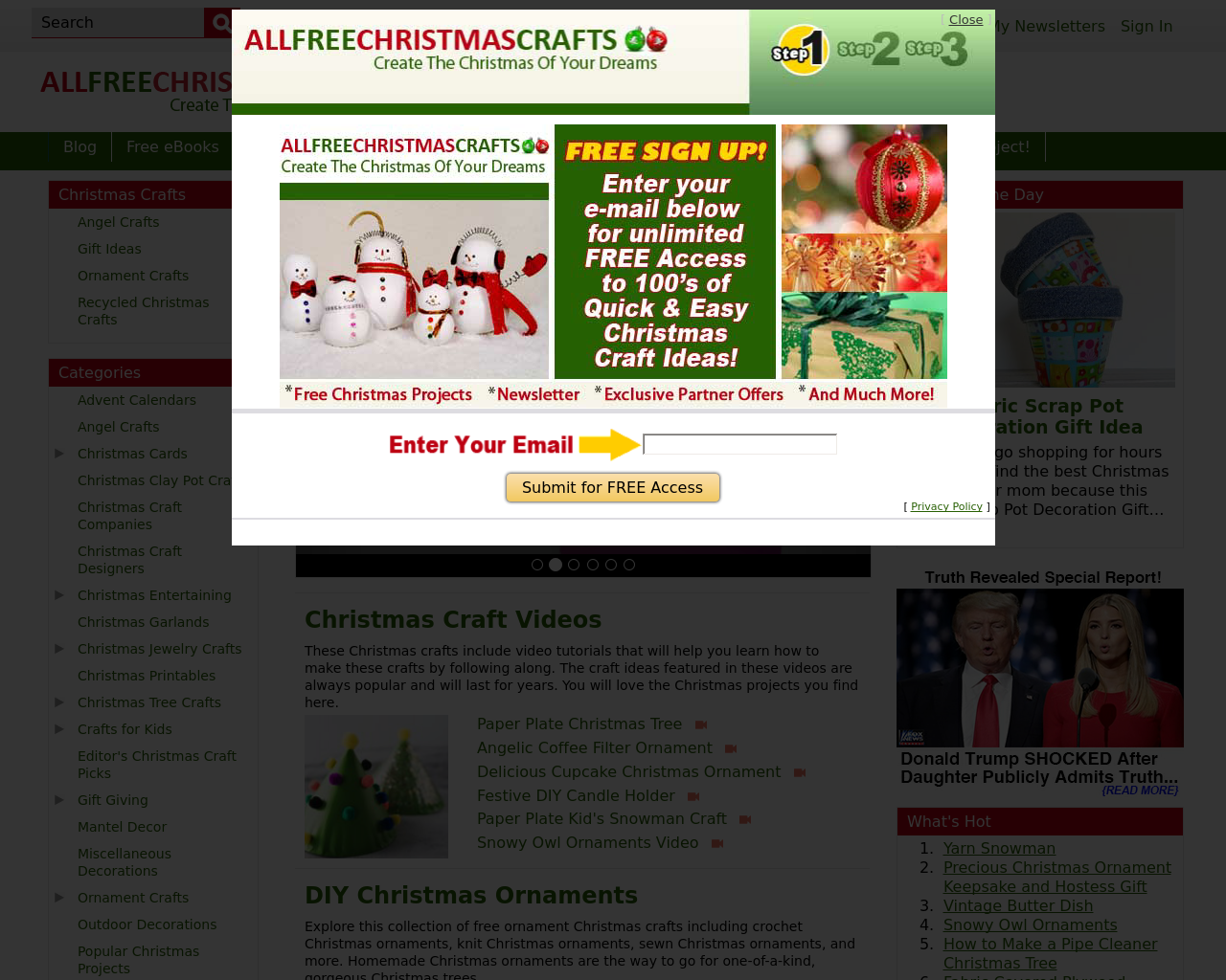 All-Free-Christmas-Crafts-Advertising-Reviews-Pricing