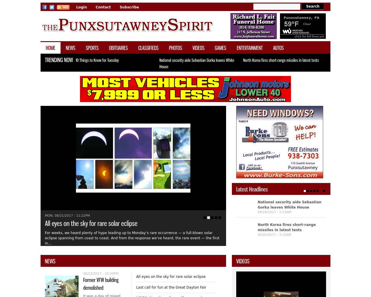 The-Punxsutawney-Spirit-Advertising-Reviews-Pricing