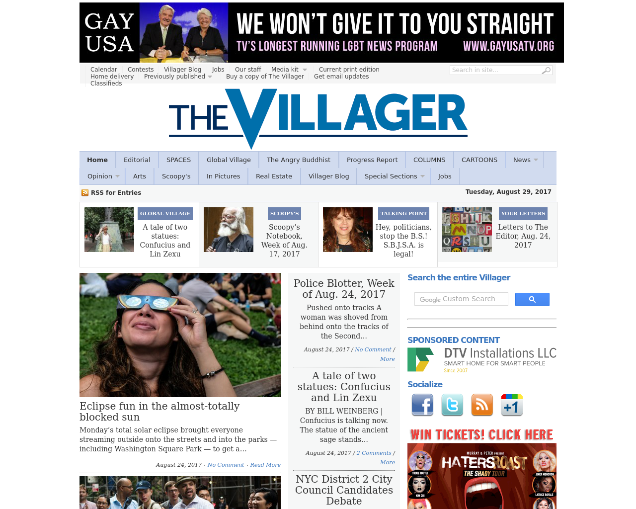 The-Villager-Advertising-Reviews-Pricing