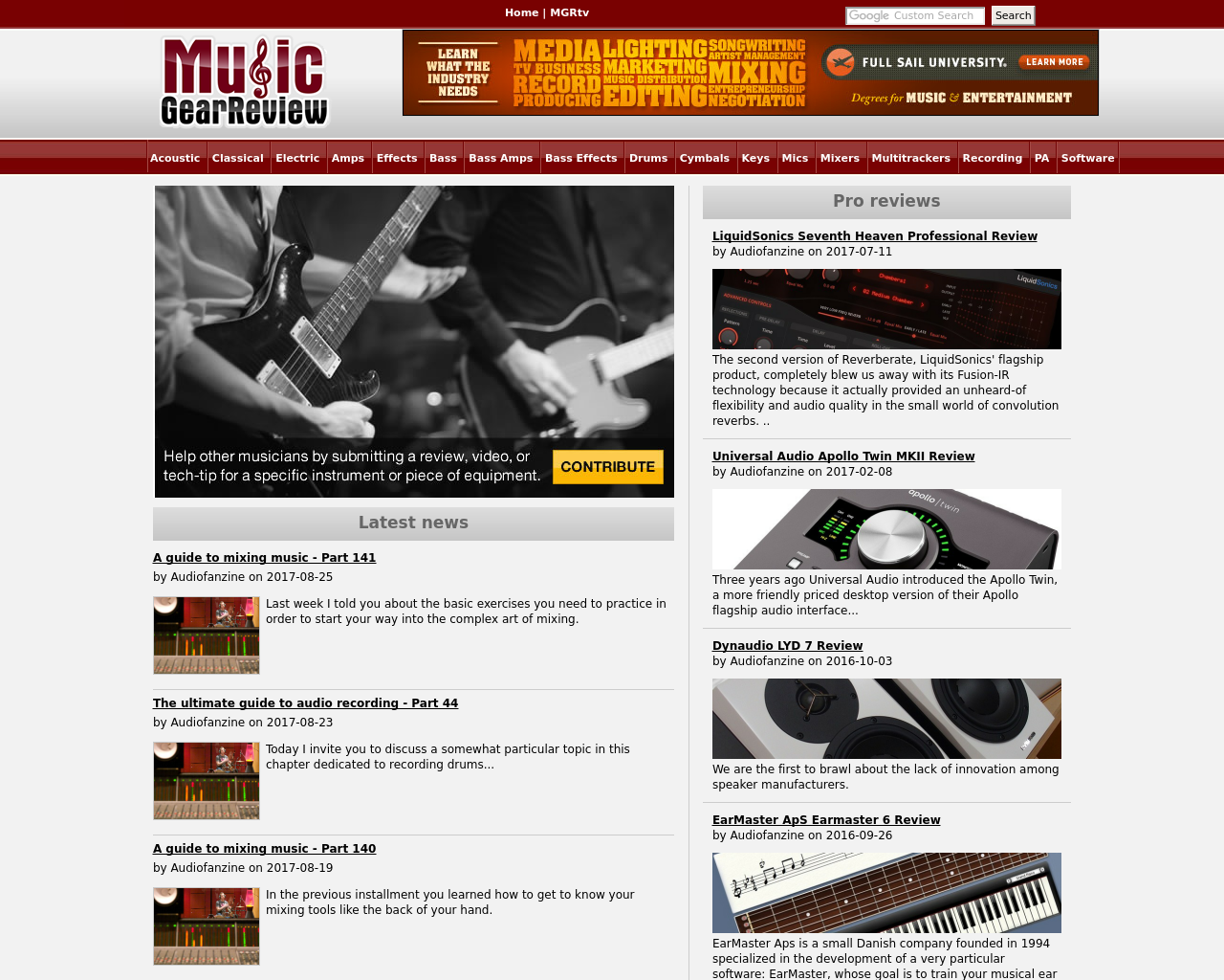 Music-GearReview-Advertising-Reviews-Pricing