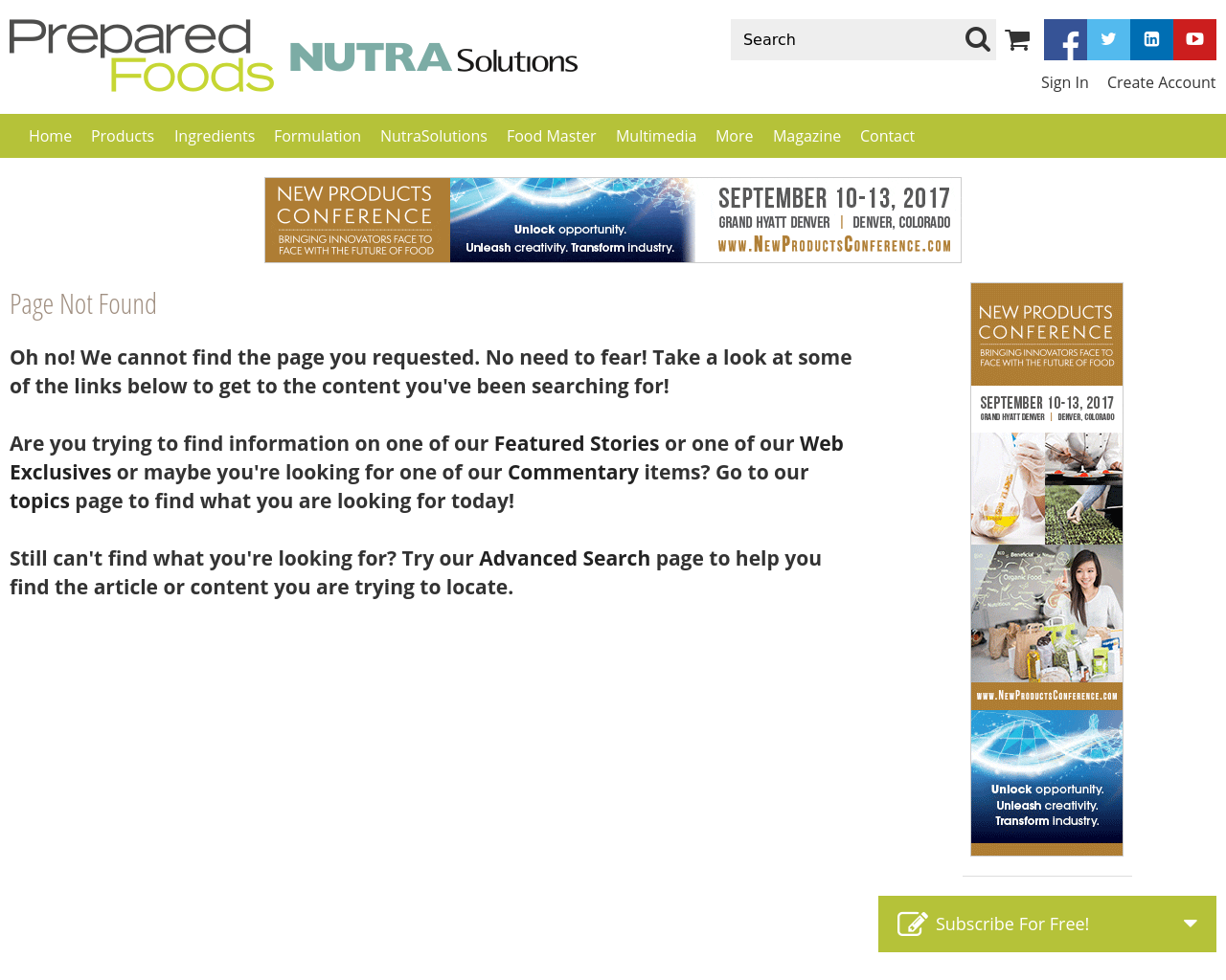 Prepared-Foods-Nutra-Solutions-Advertising-Reviews-Pricing