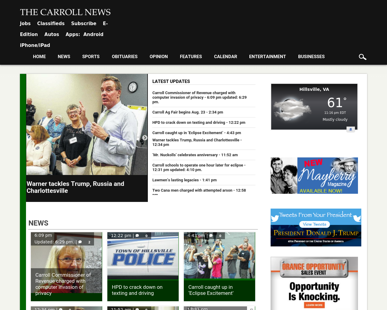 The-Carroll-News-Advertising-Reviews-Pricing
