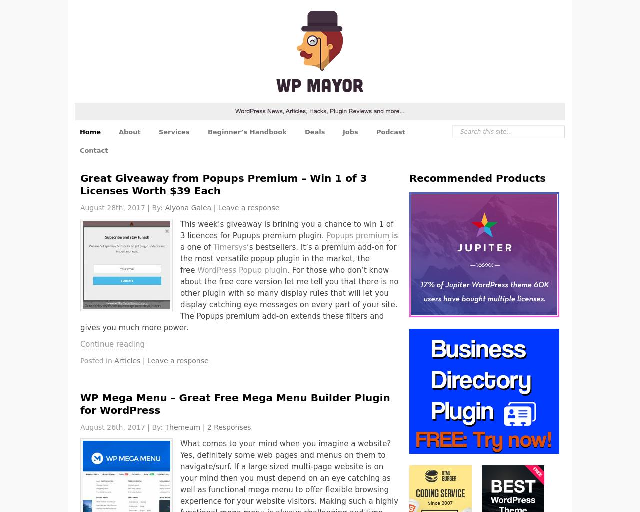 WP-Mayor-Advertising-Reviews-Pricing
