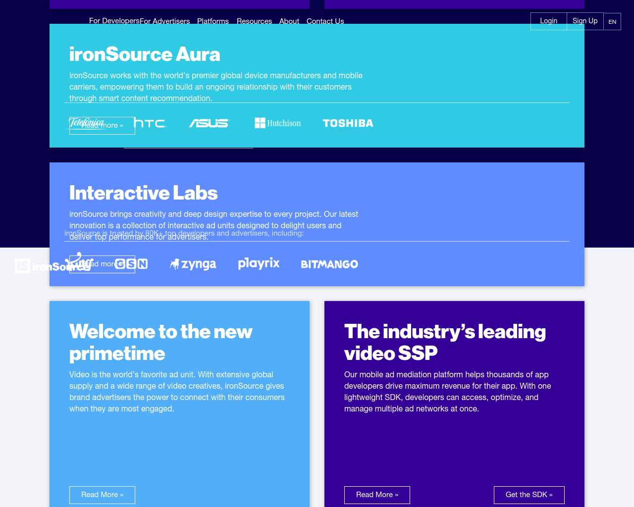 ironSource-(Digital-Solutions)-Advertising-Reviews-Pricing
