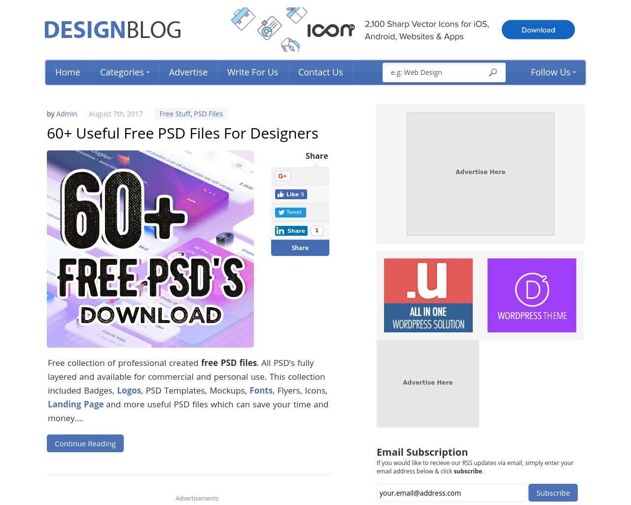 Design-Blog-Advertising-Reviews-Pricing