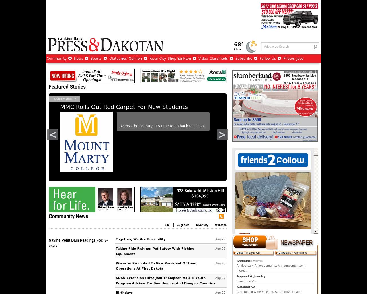 Yankton-Daily-Press-&-Dakotan-Advertising-Reviews-Pricing